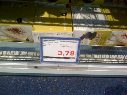 [Local: Saturn im Sevens Düsseldorf] Dolce Gusto Grande Intenso und Cappuchino für EUR 3,79