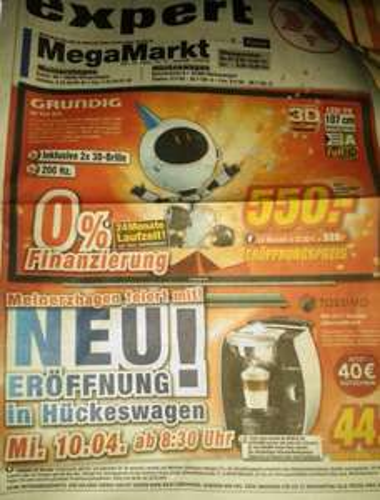 [LOKAL] Expert Neueröffnung in Hückeswagen am 10.04.