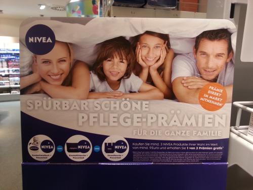2 x Gratis Geschenke beim Kauf von Nivea Artikeln im Wert von 9,00 Euro (+ 3,00 Euro Gutschein zusätzlich einlösbar) dm - drogerie markt Halle/Saale HBF ev. bundesweit