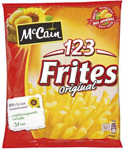 [anscheinend (fast?) bundesweit] Mc Cain 1-2-3 Frites für 99cent im Kaufland