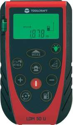 [Voelkner] Laser-Entfernungsmesser Ldm 50 U