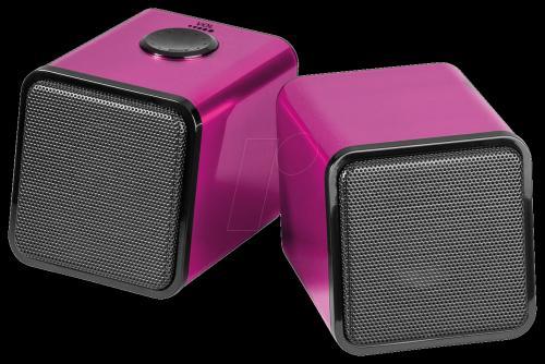 2.0 Stereo-Lautsprechersystem für PC/MAC