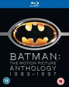 [Ausverkauft] Batman: The Motion Picture Anthology 1989-1997 Blu-ray für ca 13 - 16€