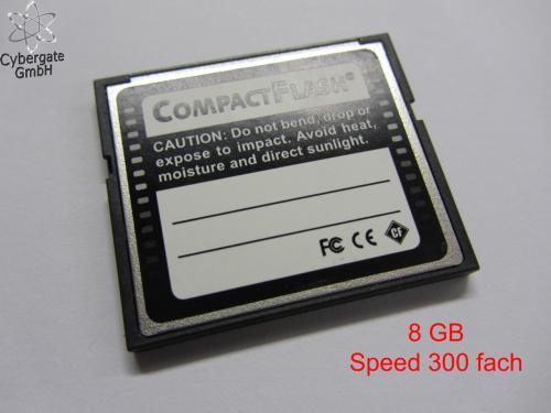 Compact Flash Speicherkarte CF-Card 8GB für nur 6,99 EUR inkl. Versand