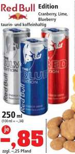 [Thomas Philipps bundesweit] vom 11.04. - 13.04. Red Bull Edition 250ml 0,85 €