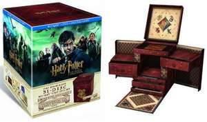 Harry Potter Zauberer Collection [Blu-ray/DVD] günstig @ Amazon WHD!