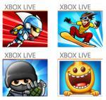 Jetzt auch für Windows Phone - 4 Xbox Live Spiele Gravity Guy, iStunt 2, Fragger und Monster Island kostenlos!