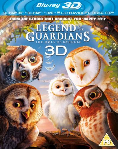 Blu-Ray - Die Legende der Wächter (Legend of the Guardians) 3D (3 Discs) für €12,60 [@TheHut.com]