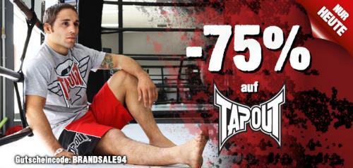 Hoodboyz heute mit 75% auf TAPOUT