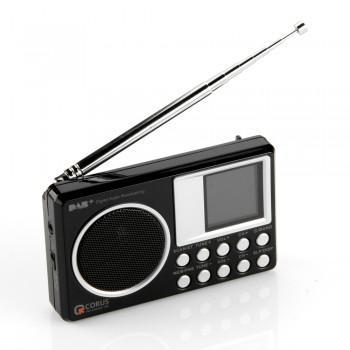 "Digital Radio Tragbar Retro aus Plastik 87.5-108MHZ 1.44"" TFT Display für nur 41,32 Euro inkl. VSK"