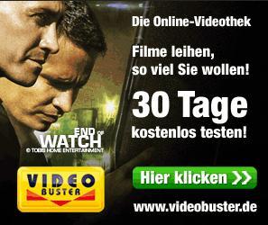Neue Neukundenaktion bei Video Buster- 30 Tage kostenlos, unbegrenzt Filme leihen
