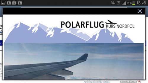 Flatratesaufen am Nordpol mit Air Berlin