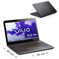 VAIO E14 mit Intel® CoreTM i3-2350M Neuer Preis:599 EUR alte 1128 EUR
