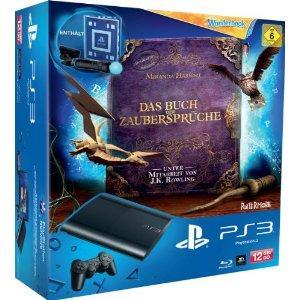 [amazon WHD] PS3 SuperSlim 12GB + Wonderbook Move Paket + Controller + EyeCam