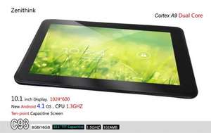 "Zenithink C-93 10"" Android Tablet"