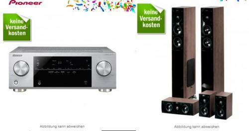 Pioneer VSX-422-S + Jamo S 606HCS3 (5.1 AV-Receiver + Heimkinosystem) 549€ @Redcoon