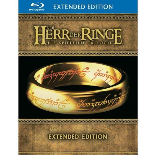 [Blu-ray] Der Herr der Ringe - Special Extended Editione (15 Discs) FSK 16 für 49,95 € @ Conrad