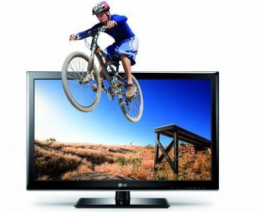 LG 32LM3400 80 cm (32 Zoll) 3D LED-Backlight-Fernseher, EEK A+ (HD Ready, 100Hz MCI, DVB-T/C)