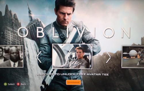 (Xbox 360) Gratis Oblivion T-Shirt für euren Avatar
