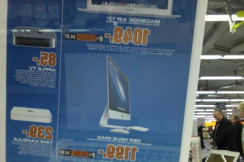"""(LOKAL, SATURN KÖLN MAYBACHSTRASSE) reduzierte iMac 21"""" und MacBook Air 13"""""""
