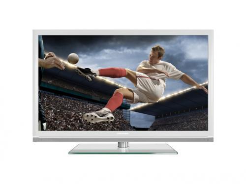 Grundig  TV 46 VLE 8270 WL 117 cm (46 Zoll) 3D LED-Backlight-TV, EEK A (Full-HD, 400 Hz PPR, DVB-T/C/S2, Smart Interactive TV). @ 569€ statt 899€