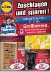 [OFFLINE] Lidl Sonderverkauf in Neubeeren bei Berlin (südlich) am Samstag 9.4.