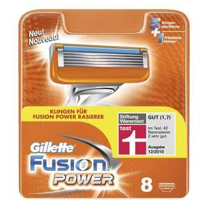 8er Gillette Fusion Power Rasierklingen  bei Müller 19,99€ /  Itunes 50€ für 40€  / Cloud Atlas blu ray 12,99€ /  Der Hobbit blu ray 12,99€  DVD 8,99€ /