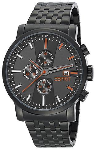 Esprit Herren-Armbanduhr XL Atrium Edelstahl beschichtet Chronograph Quarz für 64,99€ @ Amazon