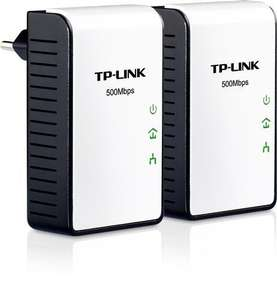 TP-LINK TL-PA411KIT Mini Powerline Adapter Starter KIT (2er Pack) 500 MBit