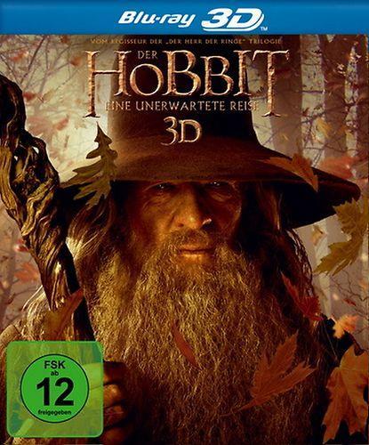 Der Hobbit: Eine unerwartete Reise [3D] Blu-Ray