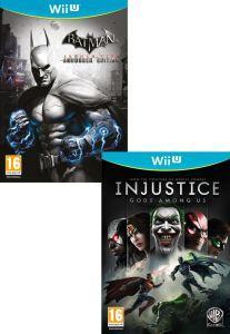 (UK) Injustice: Götter unter uns  zusammen mit  Batman: Arkham City [Wii U] für ca. 46.80€ @ Thehut