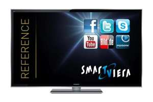 [ MM Emden ] Panasonic TX-P55STW50 140 cm (55 Zoll) 3D Plasma-Fernseher, EEK C (Full-HD, 2000Hz ffd, DVB-S/T/C, SmartTV) Anthrazit-Metallic