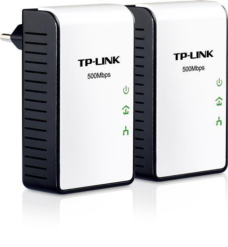 TP-LINK TL-PA411KIT Mini Powerline Adapter Starter KIT (2er Pack) 500 MBit