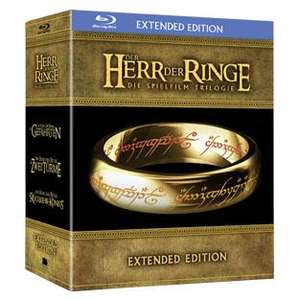 Der Herr der Ringe - Extended Edition [Blu-ray Box] bei real in der 17. KW