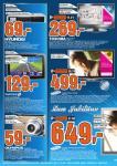 [LOKAL] Samsung LE46C750 für 649,- EUR bei Saturn Köln