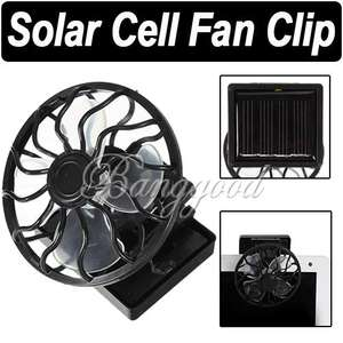 Mini Solar Ventilator für 3,69€ @Ebay
