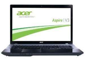 Acer Aspire 17,3 Zoll Notebook mitIntel Core i5 3210M (2,5GHz ) und NVIDIA GT 630M