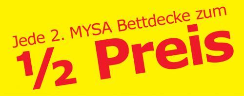 Ikea - zweite MYSA Bettdecke  zum halben Preis - bis 27.04.