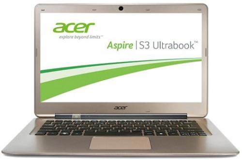 Acer Aspire S3-391 Ultrabook für 469,- anstatt 539,- || Windows 7!!!!! Intel Core i5/4GB RAM/500GB HDD