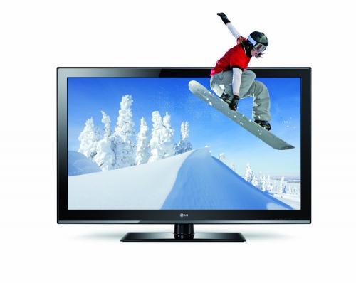 LG 47CM960S 119 cm (47 Zoll) Cinema 3D LCD, EEK C (Full-HD, 100Hz MCI, DVB-T/C/S, CI+, DLNA) schwarz für 479€ @Real