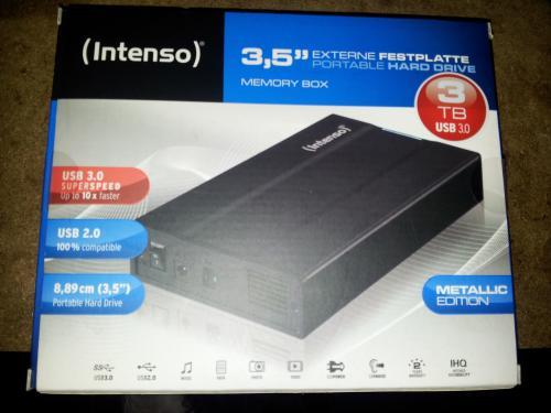 """(lokal Lünen) Intenso 3,5"""" Memory Box 3 TB"""