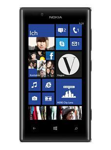 Nokia Lumia 720 Windows Phone 8 schwarz lieferbar bei Vodafone für 319,90€