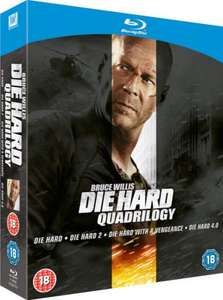 Blu-Ray Box - Die Hard Quadrilogy (4 Discs) für €11,66 [@TheHut.com]