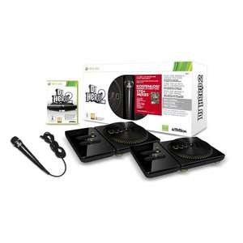 DJ Hero 2 inkl. zwei Turntable-Controller + Mikrofon (zusätzl. DJ Hero 1)  für 48€ @Preiscompany