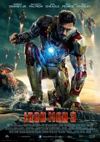 [Blu-ray] Iron Man 3-3D (Limited Lenticular Edition) für 18,49 € vorbestellen  @ CeDe
