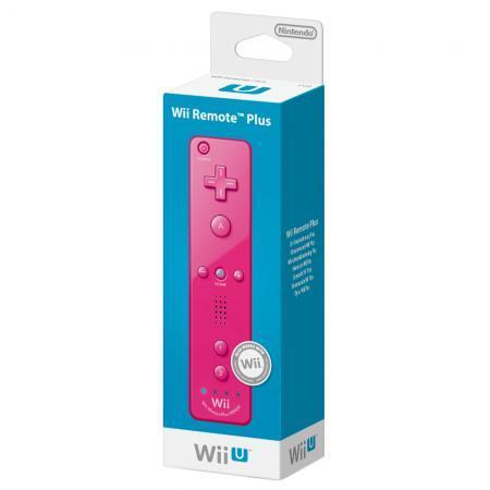 Nintendo™ - Wii(U) Remote Plus Controller (Pink) für €26,74 [@Shopto.net]