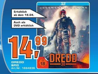 [Saturn  Duisburg]   Dredd 3D [Blu-ray 3D]