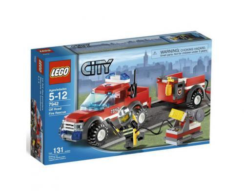 Lego™ - City: Feuerwehr Pick-up (7942) für €10,91 [@MeinPaket.de]