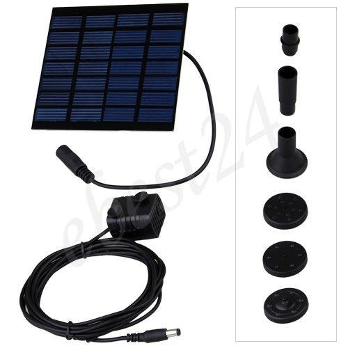 Solar Gartenteichpumpe Set für nur 15,89€ inkl. Versand