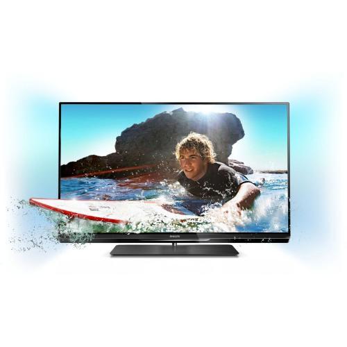 Philips 47PFL6007K/12 119 cm (47 Zoll) Ambilight 3D LED-Backlight-Fernseher, EEK A+ (Full-HD, 400 Hz PMR, DVB-T/C/S2, CI+, WiFi, Smart TV) schwarz @amazon.de
